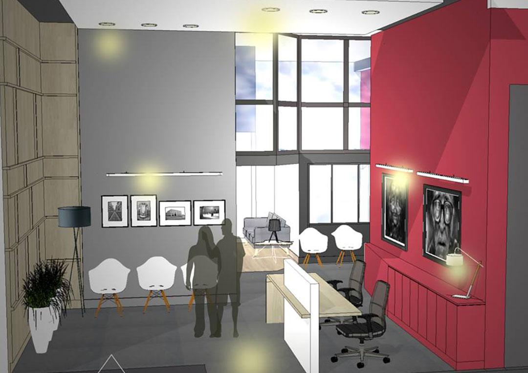 bureaux notaires l atelier d co architecture d int rieur. Black Bedroom Furniture Sets. Home Design Ideas